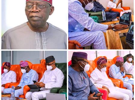 Tinubu's 69th Birthday - See How The South-West Governors Participated In His Colloquium In Kano