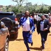 Irungu Kang'ata Reveals why he was Running to Ruto's Meeting