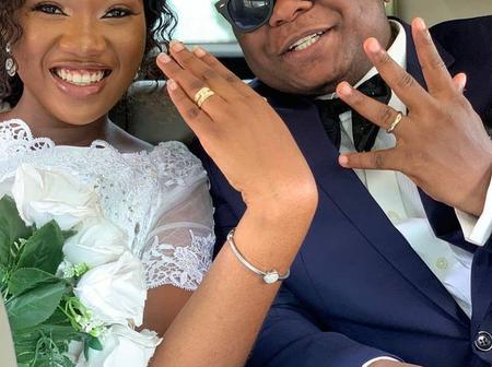 Pictures of Enock Darko's wedding floods social media.
