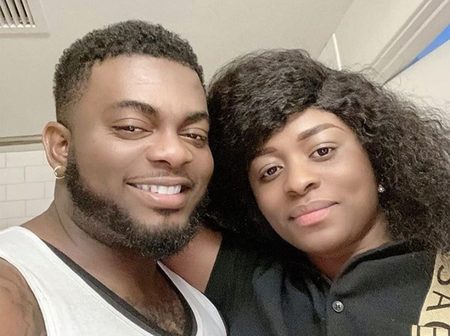 Remember Kelly Hansome; Check Out Beautiful Pictures Of His Wife And Daughter