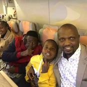 Meet Moses Kuria's Beautiful Wife And Children! (PHOTOS)