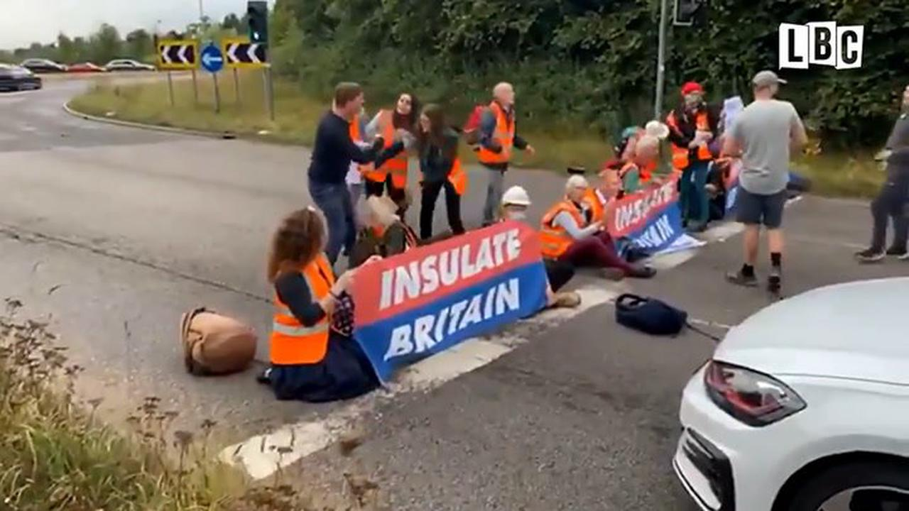 Why is the M25 closed? Motorway protests explained