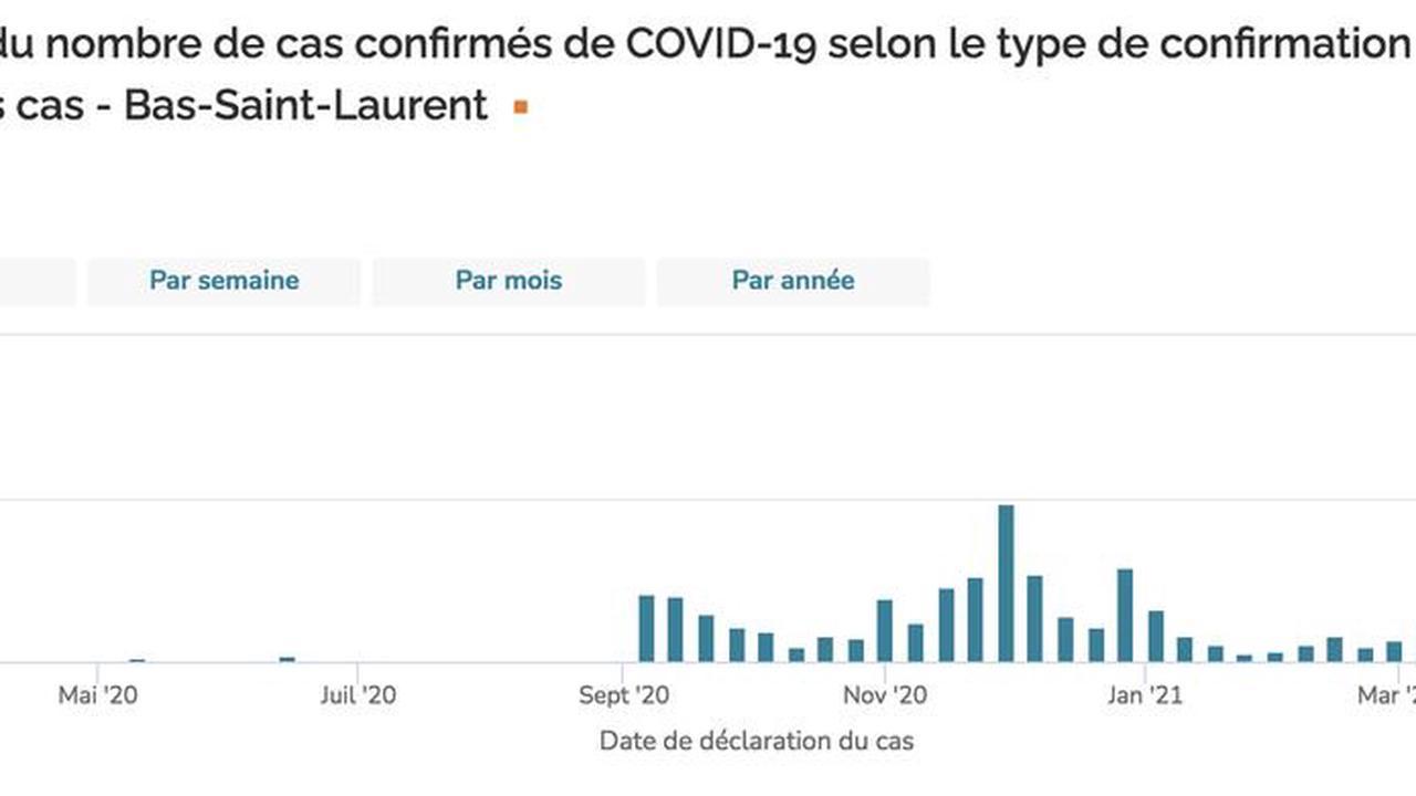 COVID-19 : la «drôle d'épidémie» du Bas-Saint-Laurent