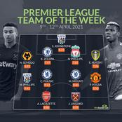 Chelsea Dominate The Premier League Team Of The Week.