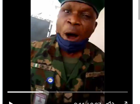 Nigerian Army said they have Arrested the Soldier who Beat A Woman with Belt at UBA Lagos.