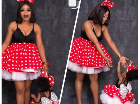 Popular Actress Rasheedah Olatokunbo Shares Hot Photos To Celebrate Her Daughter's Birthday
