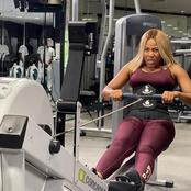 Get Motivated With These Pictures Of Erica Working Out Today