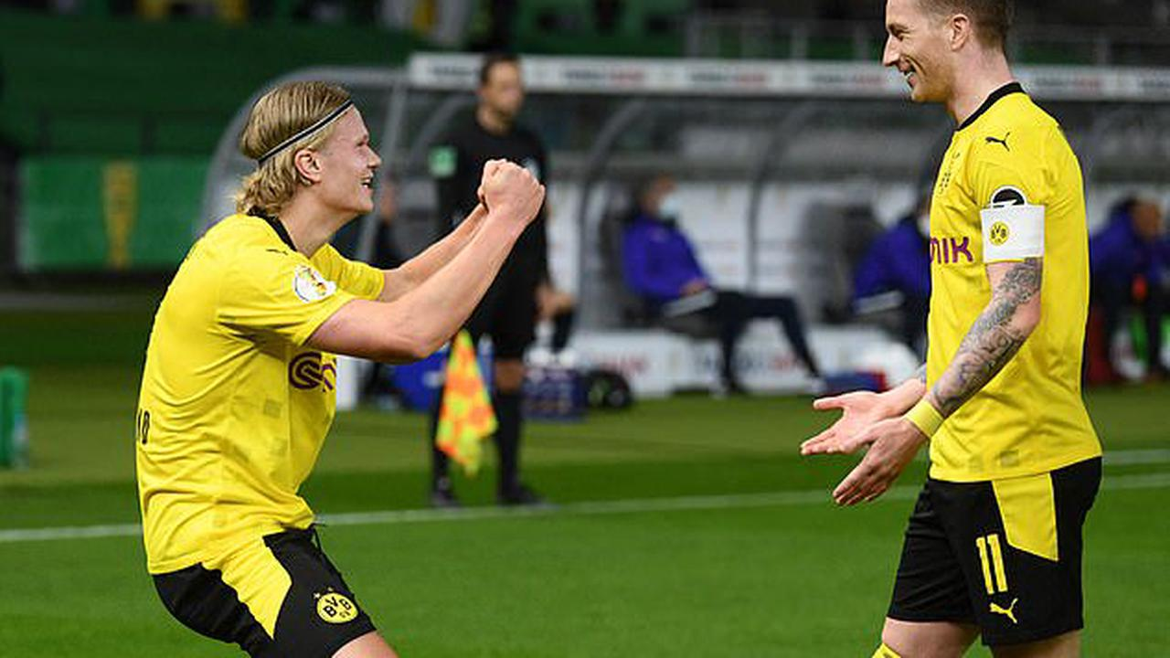 Borussia Dortmund have won the German Cup after defeating RB Leipzig