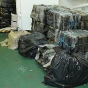 Western Cape organised crime detectives confiscated cocaine estimated to be worth R583m.
