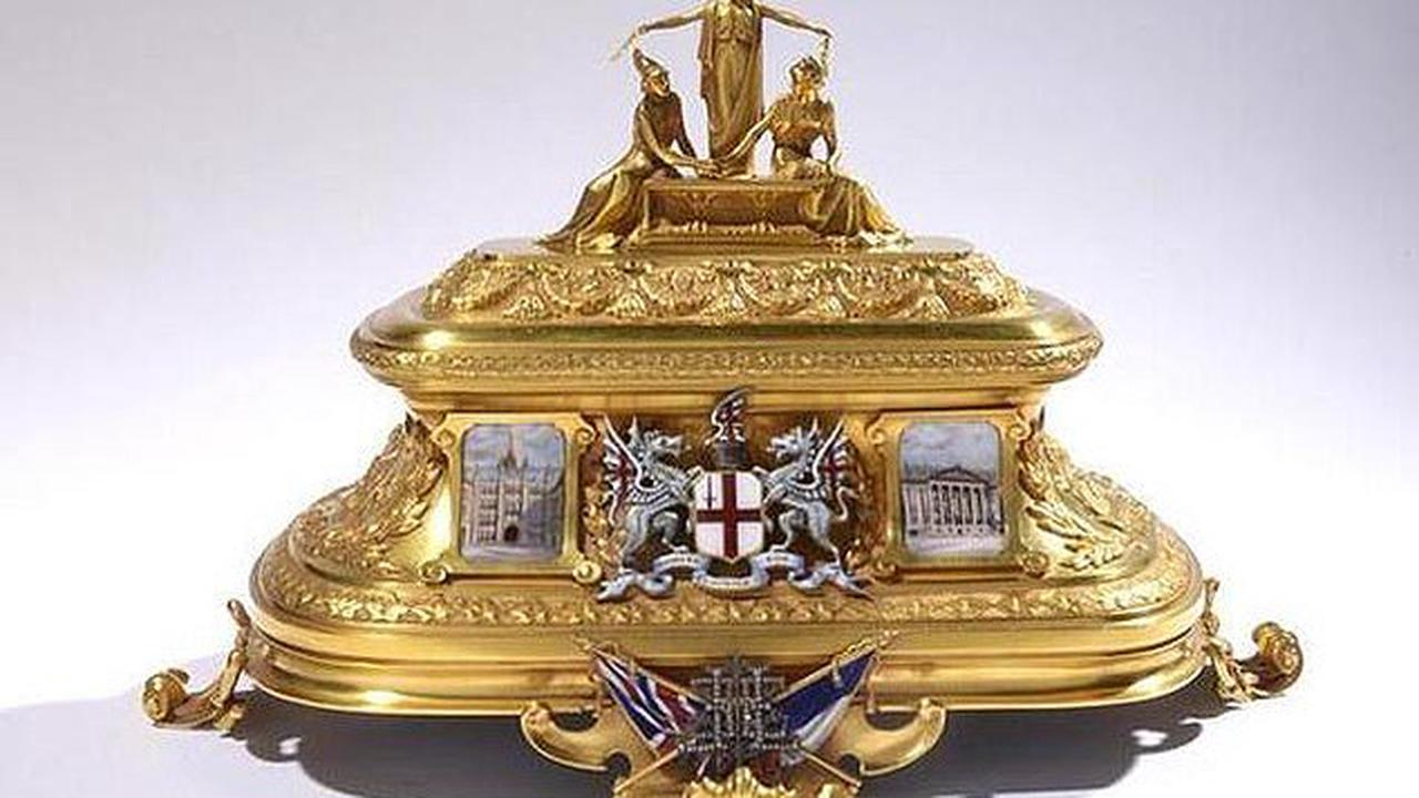 The puzzle book that leads to buried treasure: Author has hidden a £650,000 gold casket in challenge reminiscent of 1979's Masquerade