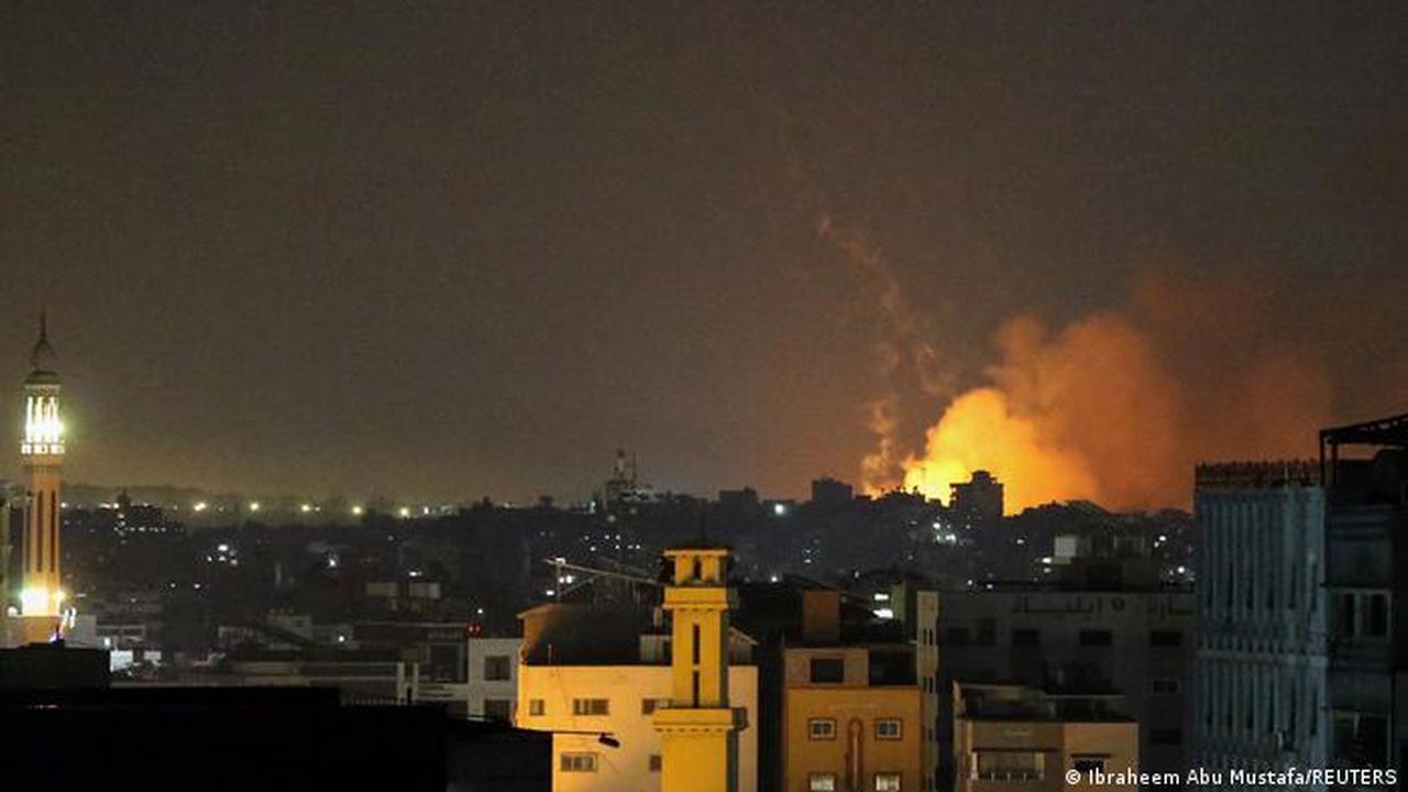 Israel-Gaza violence: Israel carries out attacks on Gaza Strip — live updates