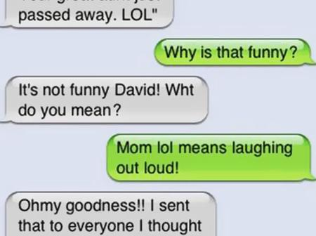 Funny texts that will make you end up rolling on the floor laughing.