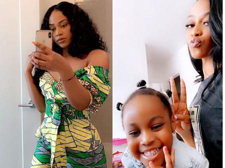 Checkout Lovely Pictures Of Davido's Second BabyMama And Her Daughter