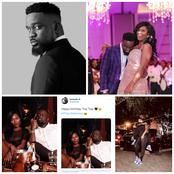 Sarkodie Causes A Stir On Twitter with His Birthday Message To His Wife, Tracy Sackcess- Fans React.