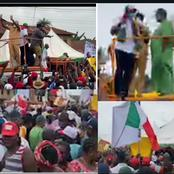 EDO 2020: Obaseki, Shaibu, PDP Storm Oshiomhole's Zone(Edo North) For Campaign (Photos)