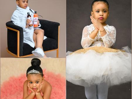 Check Out 10 Photos Of This Kid Who's A Brand Ambassador And Her Mother Is A Popular Nigerian Actor