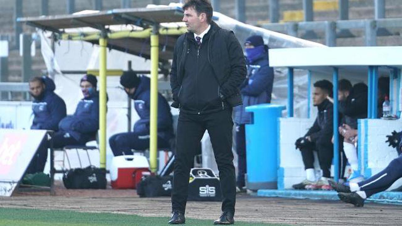 Carlisle manager reacts to victory over Scunthorpe