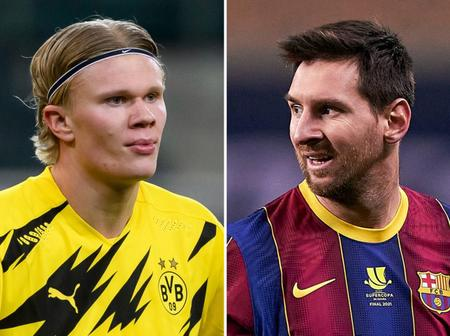 BREAKING: Pep Guardiola Have Agreed To Complete The Signing Of Both Haaland And Messi
