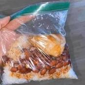 Take a look at what Mothers who do not Trust their Children with Tupperware pack lunch for them