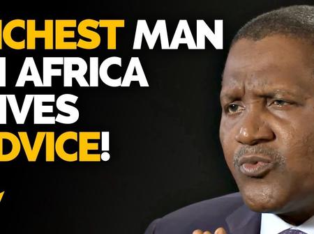 Aliko Dangote ultimate advice for every ambitious young person that will change your mindset totally