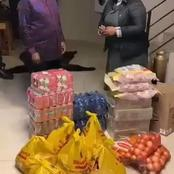 Zuma has received food parcels to cook for the ever-increasing guests in Nkandla