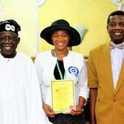 Meet Bola Tinubu's wife who is an ordained pastor at the Redeemed Christian Church of God