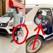 Reactions As Popular Crypto Trader Splashes N17Million on Brand New Benz 'SUV' [PHOTOS]