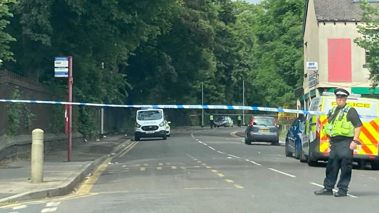 Live updates as police shut Stoney Rock Lane after shop worker attacked by youths with machetes