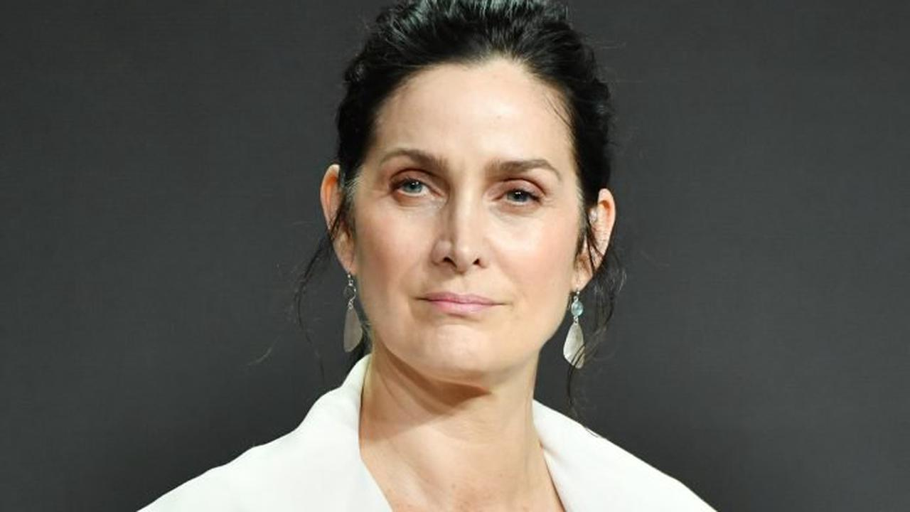 """Carrie-Ann Moss was offered """"grandmother"""" role day after 40th birthday"""