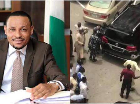 Meet Danladi Umar, The Chairman Code Of Conduct Tribunal Who Was Recently Spotted Assaulting A Guard
