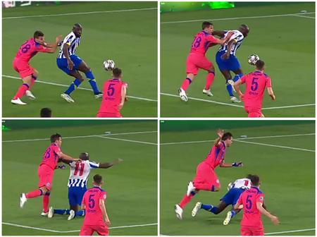 Chelsea Only Won Porto Because The Referee & VAR Refused To Award a Penalty To Porto Despite a Foul