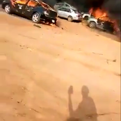 Armed Thugs Attacks Non Protesters Vehicles in ABJ