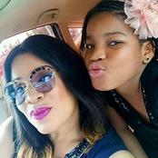 Photos Of Actress Liz Benson, Genevive Nnaji And Monalisa Chinda With Their Beautiful Daughters