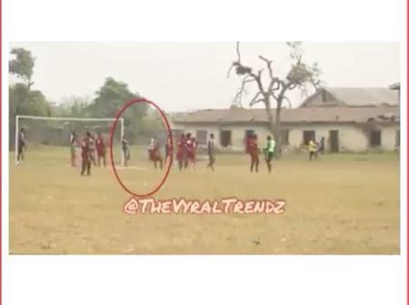 Footballer Dies After Collapsing On The Field In Ogun State [WATCH VIDEO]