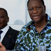 """Alassane Ouattara confirme enfin: Hamed Bakayoko ne va pas bien et est """"actuellement hospitalisé"""""""