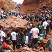 Man burried alive at Nyatike, Colleagues watch helplessly