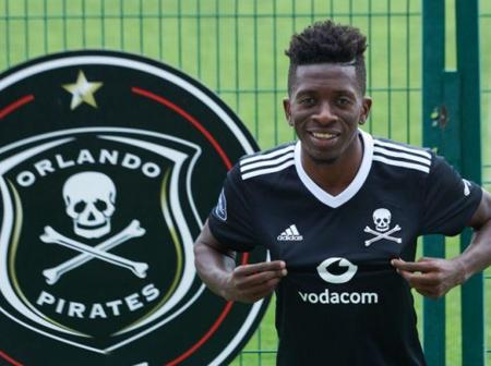 BREAKING: Pirates sign Congolese striker
