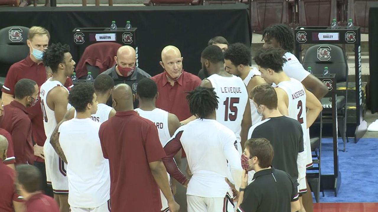 Gamecock MBB game vs. Tennessee postponed