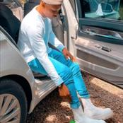 What In The world Are These , Otile Brown Trolled Online For Wearing These Shoes