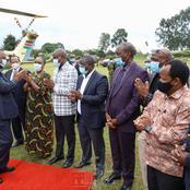Tanga Tanga MP Rigathi Gachagua Fails to Receive President Uhuru Kenyatta on Sunday