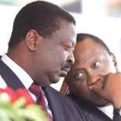 Reactions As Itumbi Shares A Picture of This Past Agreement Between Uhuru & Mudavadi Online