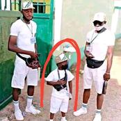 See The Shortest Corper Currently In NYSC Camp Abuja (See Pictures)