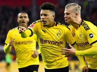 Sancho Breaks English and Bundesliga Records With Borussia Dortmund Hat-trick.