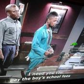 Scandal: Will Simo pay Thando's school fees? See what will happen