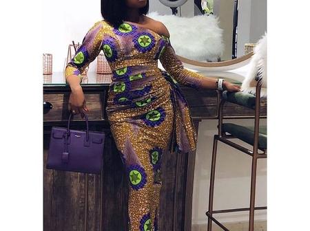 See These 18 Long Ankara Gown Fashion Styles For Young Women