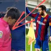 After Barcelona Won Yesterday, See What Lionel Messi Did (Photos)