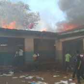 Learning Paralysed As Fire Brings Down 7 Classrooms.