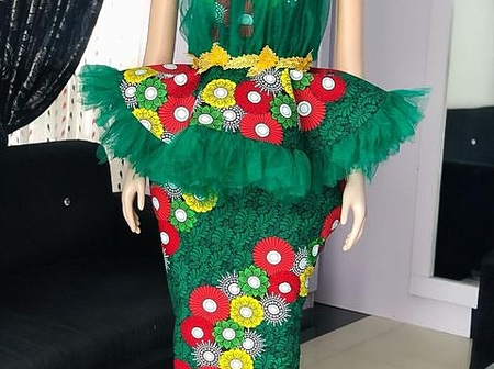 Ladies, Check Out These Stunning 2021 Ankara Skirts And Blouses Styles To Rock This Year