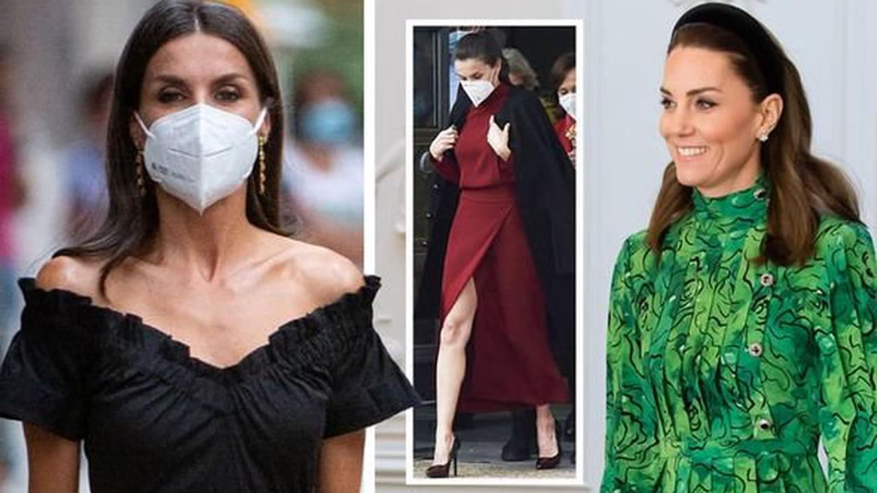 Queen Letizia has 'no limits' with fashion choices compared to Kate Middleton