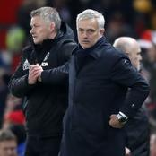 After Tottenham lost to Manchester United, Mourinho insults Man United coach.